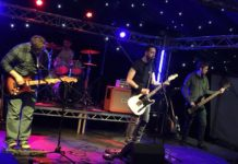 Last Orders set to play on the main stage in Perth for the Christmas Light Switch-on
