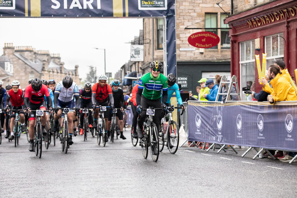 Thousands pedal across Highland Perthshire at Etape Caledonia 2019